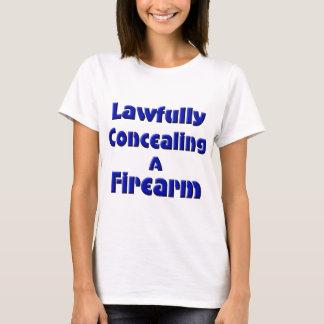 T-shirt Légalement dissimulation d'une arme à feu