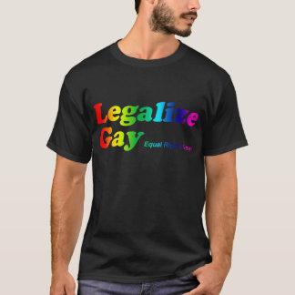 T-shirt Légalisez l'homosexuel