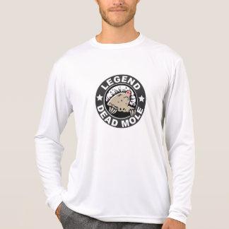 T-shirt Légende de la longue douille de taupe morte