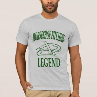 T-shirt Légende en fer à cheval T d'habillement américain