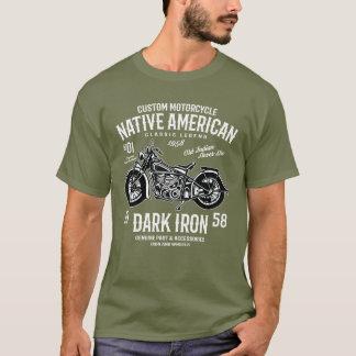 T-shirt Légende indienne faite sur commande de classique