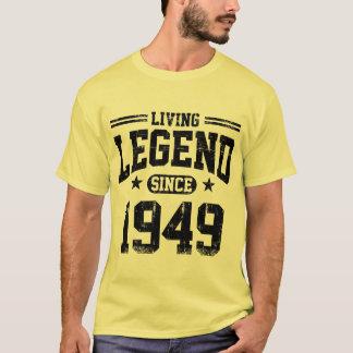 T-shirt Légende vivante depuis 1949