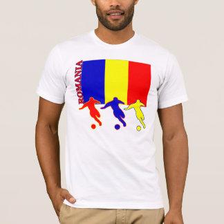 T-shirt léger de la Roumanie du football