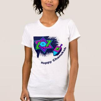 T-shirt léger heureux de Chanukah