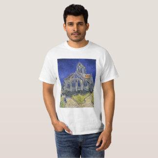 T-shirt L'église dans Auvers par Vincent van Gogh