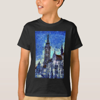 T-shirt L'église Vincent van Gogh
