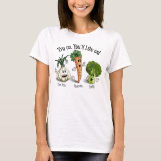 T-shirt Légume - jugez-nous. Vous nous aimerez !