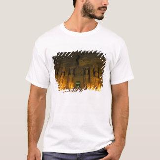 T-shirt L'Egypte, Abu Simbel, façade allumée de petit