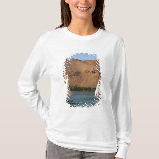 T-shirt L'Egypte, Assouan, le Nil, voiliers de Felucca,