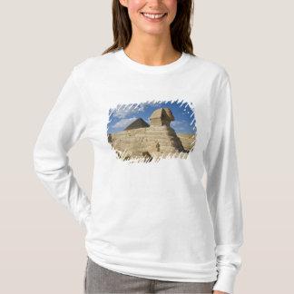 T-shirt L'Egypte, Gizeh. Le grand Sphynx se lève au-dessus