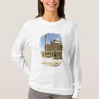 T-shirt L'Egypte, le Caire. La mosquée imposante de