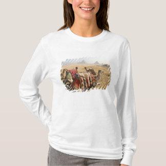 T-shirt L'Egypte, le Caire. Regard fixe de repos de