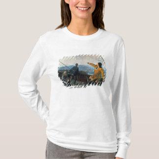 T-shirt Leif Eriksson aperçoit la terre en Amérique, 1893