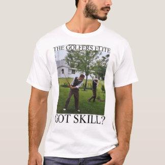T-shirt L'élite de golfeurs