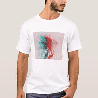 T-shirt L'ELOSIN blanc des hommes Deux-A modifié la