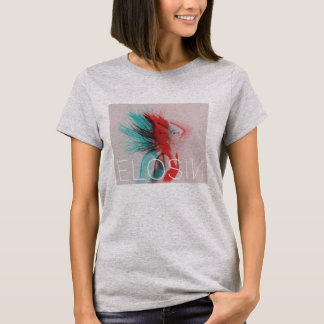 T-shirt L'ELOSIN gris des femmes Deux-A modifié la