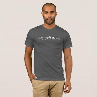 T-shirt L'emballage du coeur enregistre l'asphalte