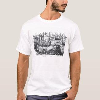 T-shirt L'embarquement de Henry VIII à Douvres