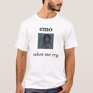T-shirt l'emo m'incite à pleurer