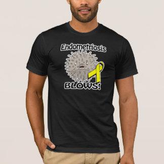 T-shirt L'endométriose souffle la conception de conscience
