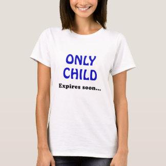 T-shirt L'enfant unique expire bientôt