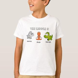 T-shirt L'énigme 3 comme dinosaures
