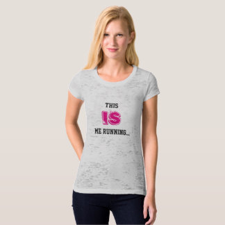 T-shirt lent de coureurs