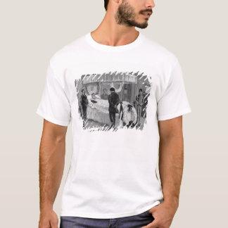 T-shirt L'enterrement de Garibaldi chez Caprera