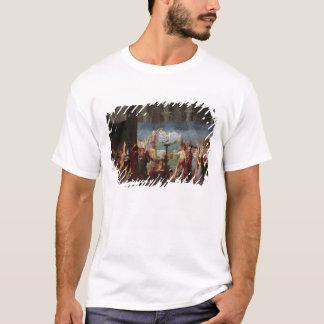 T-shirt L'enterrement de Marat dans l'église antique