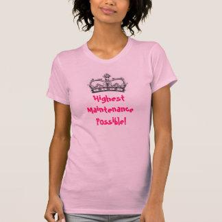 T-shirt L'entretien le plus élevé possible !