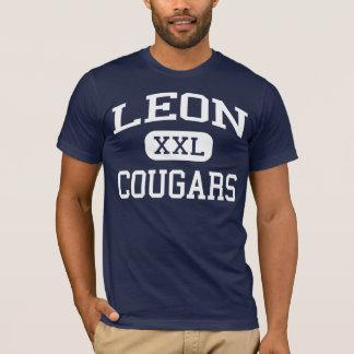 T-shirt Léon - pumas - lycée - Jewett le Texas