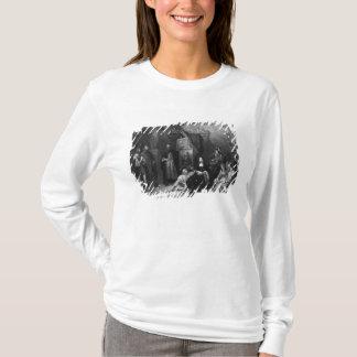 T-shirt Leonardo da Vinci peignant le Gioconda