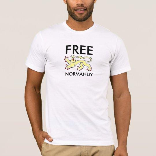 T-shirt Léopard normand gold, FREE NORMANDY