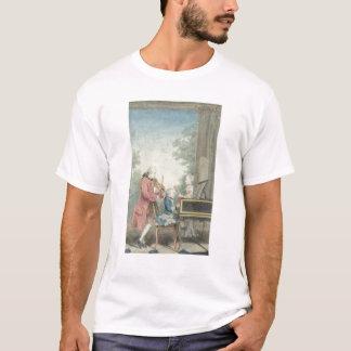 T-shirt Leopold Mozart et ses enfants Wolfgang