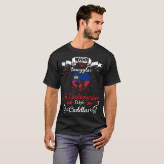 T-shirt L'épouse chaude de Liechtensteiner de câlins