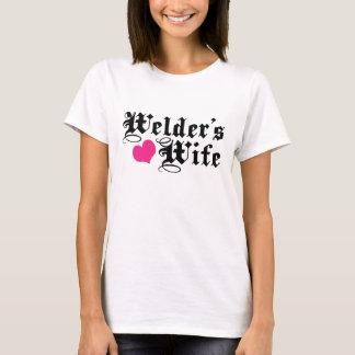 T-shirt L'épouse de la soudeuse