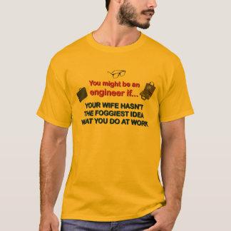 T-shirt L'épouse de l'ingénieur