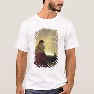 T-shirt L'épouse du pêcheur pleurant sur la plage