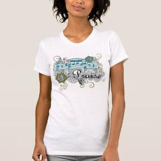 T-shirt L'équipage de la femme d'éloge