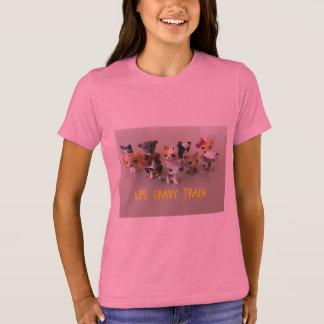 T-shirt L'équipage de sauce au jus
