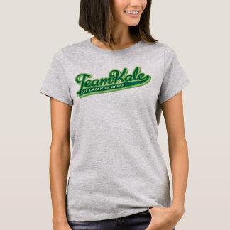T-shirt L'équipe que le chou frisé mangent le vert soit