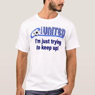 T-shirt l'équipe unie donne des leçons particulières à la