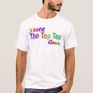T-shirt Les 10 toujours principaux amen