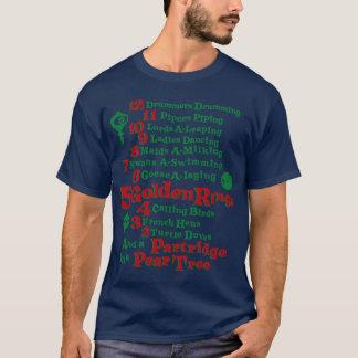T-shirt Les 12 jours de Noël