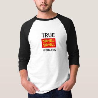 """T-shirt """"Les 2 léopards normands"""" """"True Normans"""""""