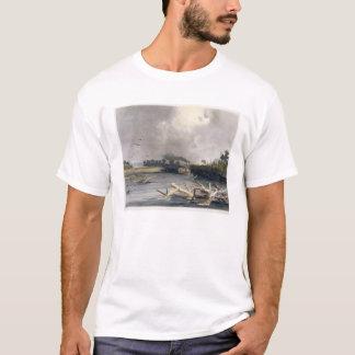 T-shirt Les accrocs (arbres submergés) sur le Missouri,