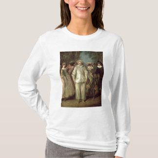 T-shirt Les acteurs du dell'Arte de Commedia