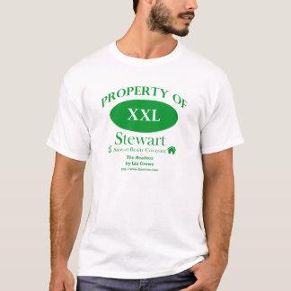 T-shirt Les agents immobiliers - propriété d'objet