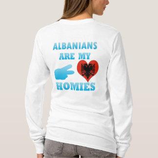 T-shirt Les Albanais sont mon Homies