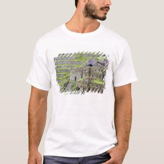 T-shirt Les Amériques, Pérou, Machu PIcchu. Les 2 antiques